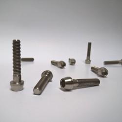 Titanový šroub M6x30 ISO 4762 taper head (inbus s konickou hlavou)