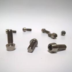 Titanový šroub M6x16 ISO 4762 taper head (inbus s konickou hlavou)